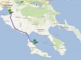 Дорога в Афитос