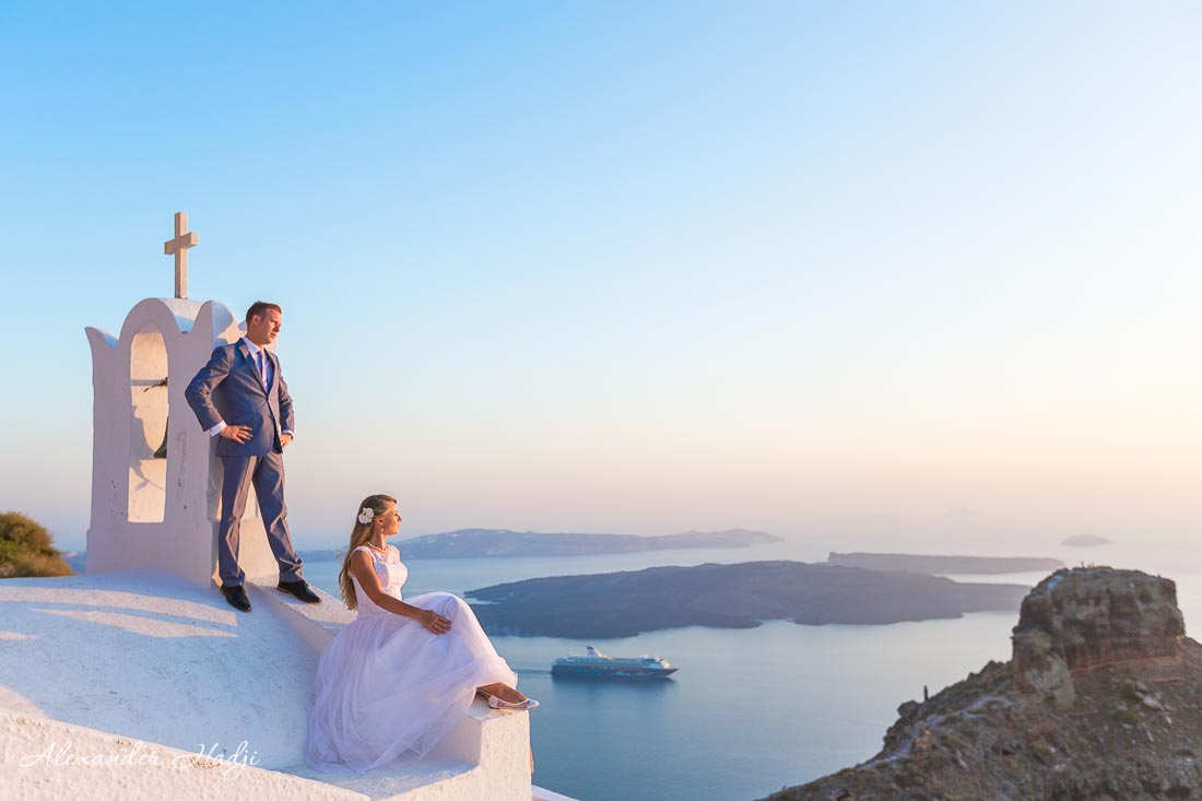 Santorini wedding photographer Alexander Hadji 87B2721