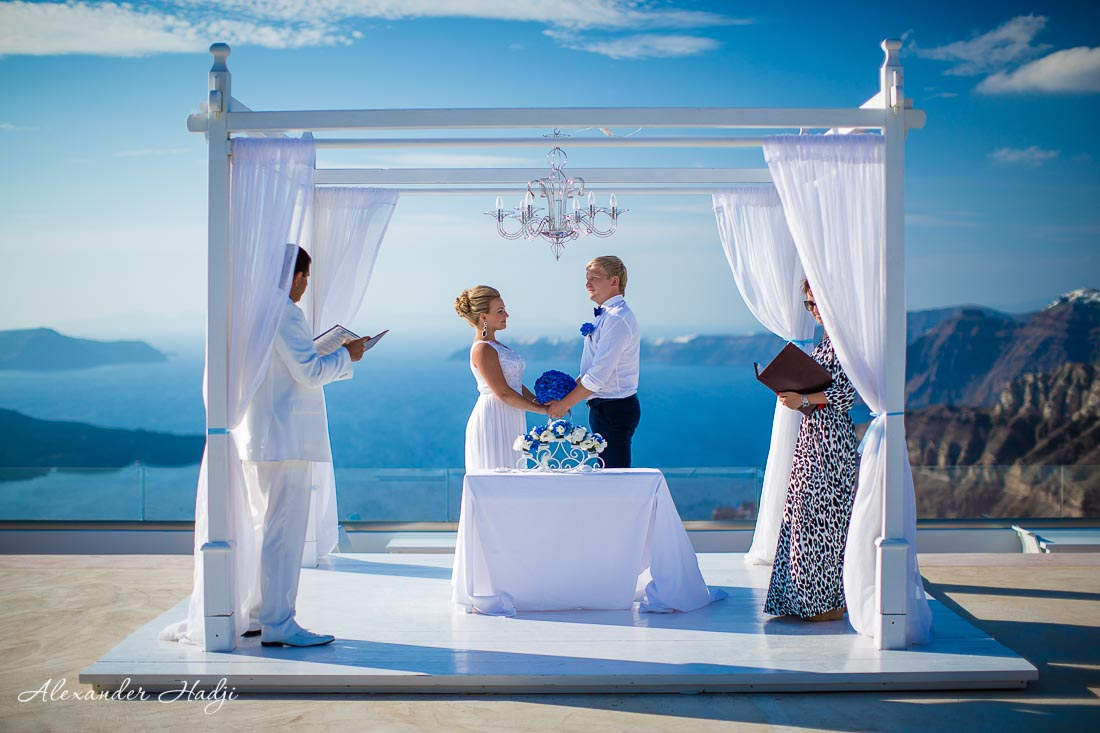 Santorini wedding photographer Alexander Hadji 87B6484